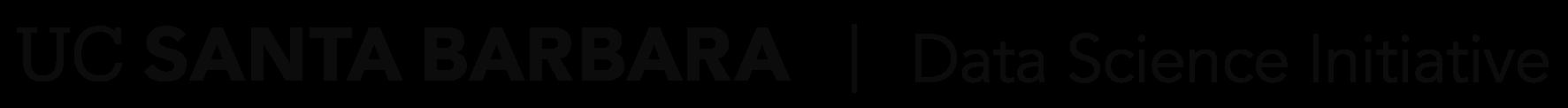 Data Science Initiative - UC Santa Barbara